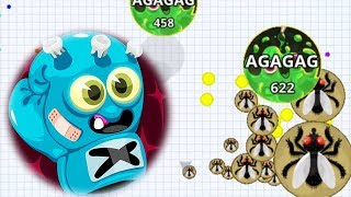 Agar.io Solo Rush Rush Pro Vs Team Best Wins/Fails Best Moments Agario Mobile Gameplay