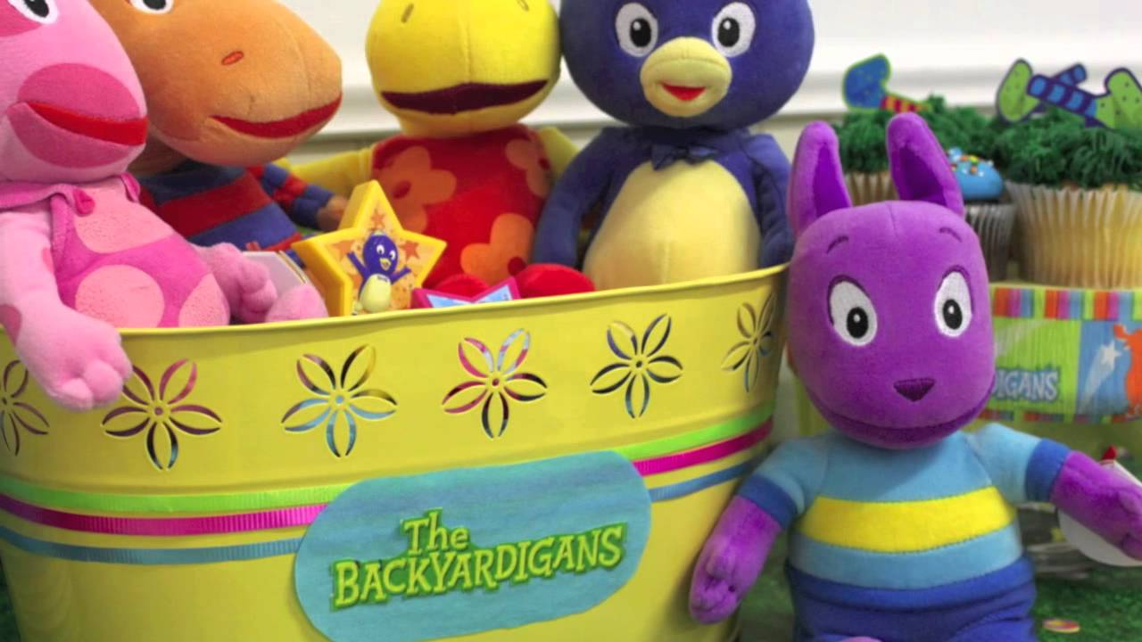 Backyardigans party supplies youtube for Backyardigans party decoration