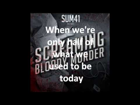 Sum 41   What Am I To Say With Lyrics