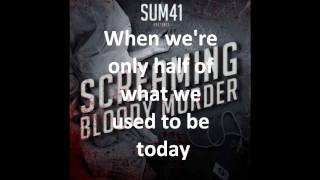 Sum 41 - Screaming Bloody Murder - 6. What Am I To Say What am I to...