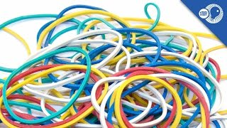 The Rubber Band: Where does it come from? | Stuff of Genius