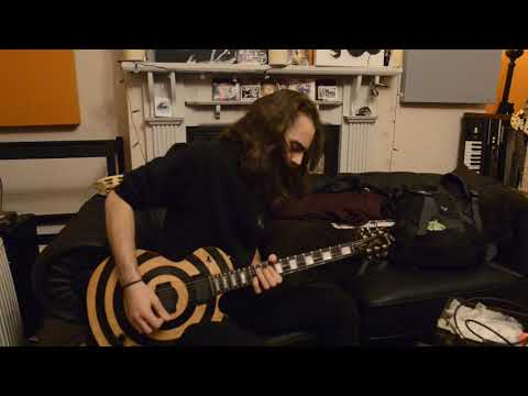 Gibson Zakk Wylde Les Paul Custom BFG 2009 Guitar Demo by Jack of Piston at Essex Recording Studios