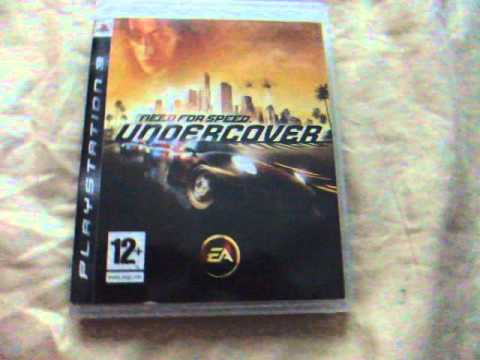 cole o de jogos ps3 need for speed undercover. Black Bedroom Furniture Sets. Home Design Ideas