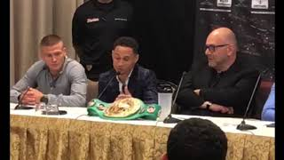 TERRY FLANAGAN PRESSER HIGHLIGHTS FOR REGIS PROGRAIS FIGHT
