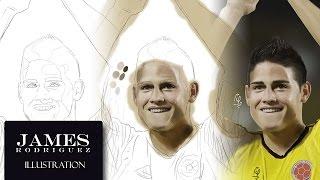 James Rodriguez  wins Golden Boot World Cup Brazil 2014 Digital Draw