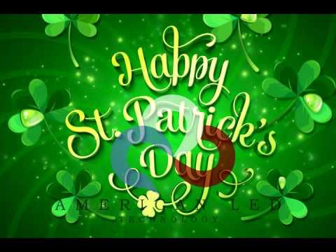St. Patricks Day Animation - YouTube