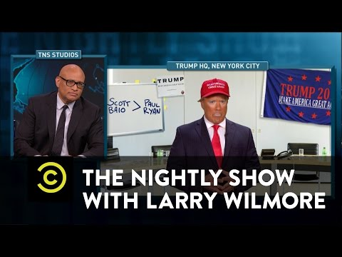 Thumbnail: The Nightly Show - Blacklash 2016: The Unblackening - Donald Trump's Dangerous Second Amendment Talk