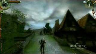 The Witcher (Wiedźmin) - Oryginal Gameplay