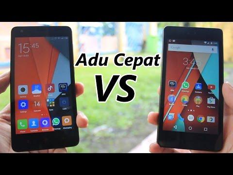 Adu Cepat Android One VS Redmi 2