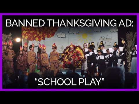 School Play | PETA's Banned Thanksgiving Ad
