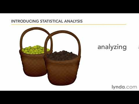 Understanding descriptive and inferential statistics | lynda.com overview
