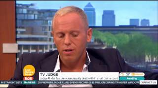 [HD] Good Morning Britain: Judge Rinder interview