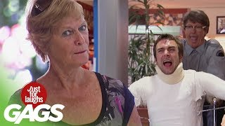 Funny Video | Breaking People's BONES | Best Of Just For Laughs Gags
