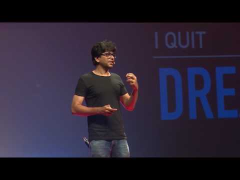Art of Quitting | Pawan Kumar | TEDxDSCE