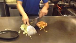 材料 美味しいキムチ 豚バラ肉 玉ねぎ 千切りキャベツ お醤油 お好み焼...