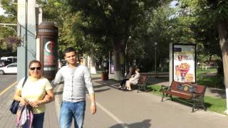 Yerevan, 06.10.15, Video-1,  Abovyan-Kaskad(Live streets view, Yerevan, Oktober 06, video-1, Abovyan, Sayat Nova, Mashtots, Moskovyan, Kaskad., 2015-10-06T18:28:16.000Z)