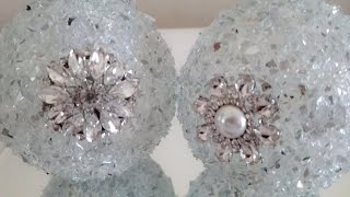 DIY| CRYSTAL BLING ORNAMENTS