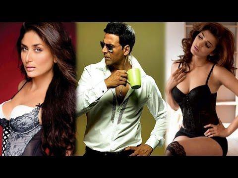 Kareena Kapoor Khan To Play Akshay Kumar's Wife In 'Gabbar Is Back' | Bollywood News in 1 minute