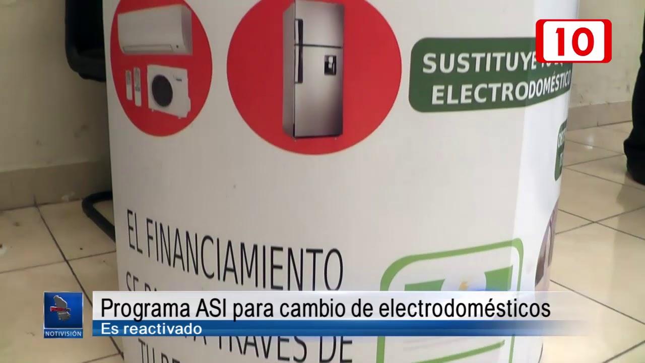 Programa Asi Para Cambio De Electrodomésticos Es Reactivado