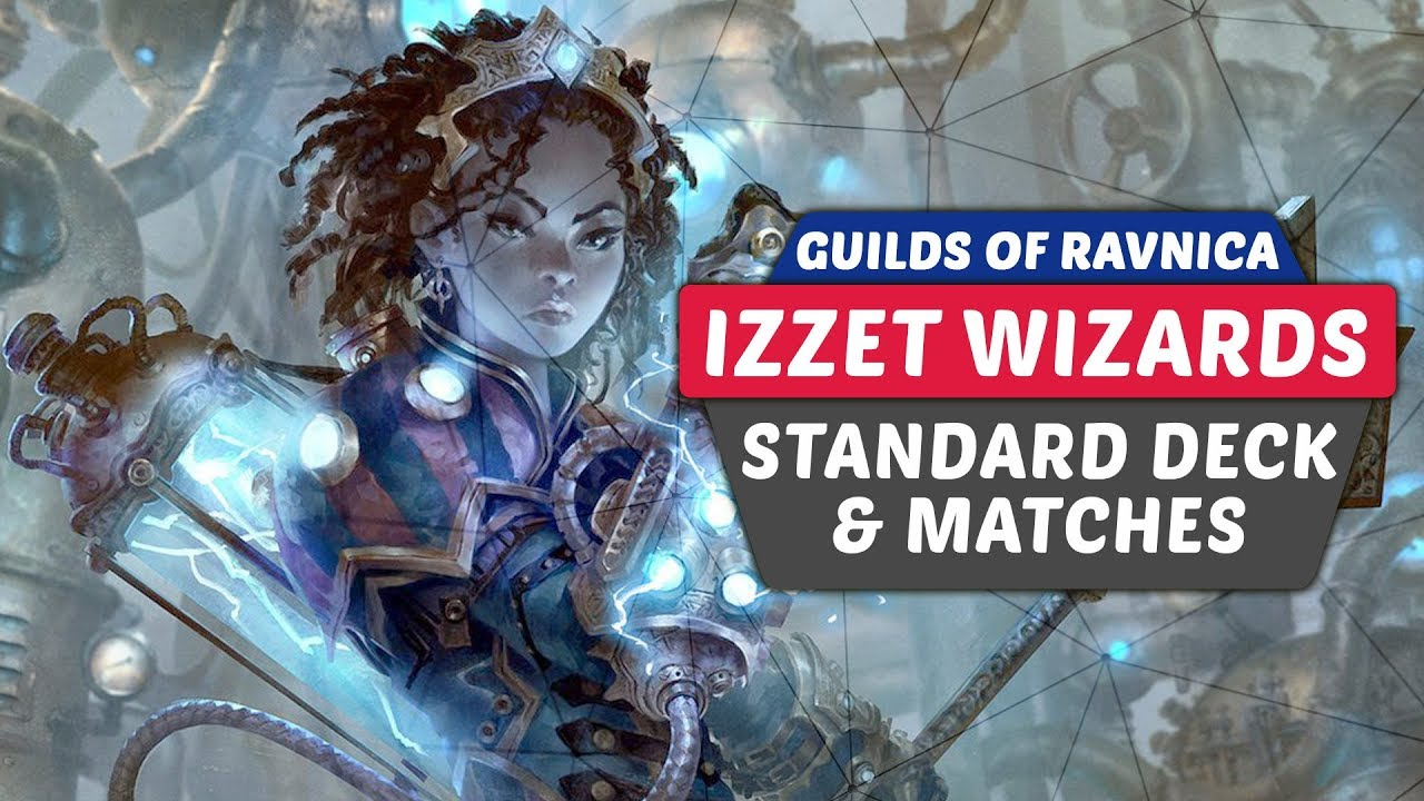 Izzet Wizards Guilds of Ravnica Budget Standard Deck Tech