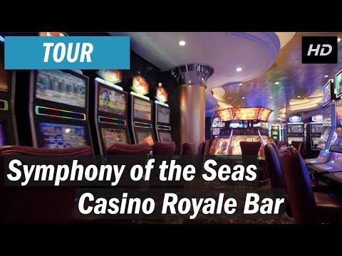 Symphony of the Seas - Casino Royale tour