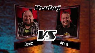 "Dario vs. Ante: ""Crying In The Rain"" - The Voice of Croatia - Season1 - Battle1"