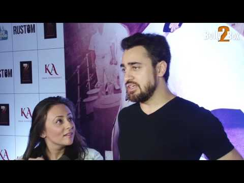 Imran Khan With Wife Avantika Malik Khan At Rustom Movie Special Screening