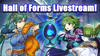 Hall of Forms Livestream! Viewers, Choose My Skills! [Fire Emblem Heroes]