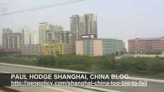 PAUL HODGE: CHINA HIGH SPEED RAIL, SOLO AROUND WORLD IN 24 DAYS, Ch 71 of 95, Amazing World Minutes
