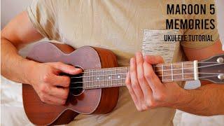 Maroon 5 - Memories EASY Ukulele Tutorial With Chords