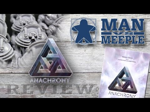 Anachrony (Mindclash Games) Review by Man Vs Meeple