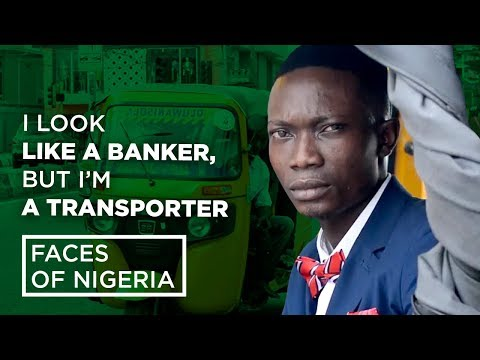 Faces of Nigeria: Meet Young Transporter Who Has TV, Fan, Air Freshener in His Tricycle| Naij.com TV