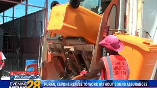 PURAN, CEVONS REFUSE TO WORK WITHOUT SOUND ASSURANCES  12 12 2018