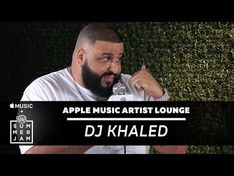 "DJ Khaled Talks ""Grateful"" and Asahd at Apple Music Artist Lounge"