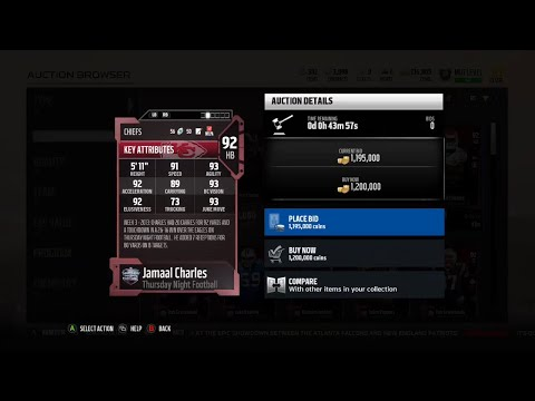 Madden 18 Ultimate Team Thursday Night Football Jamaal Charles and Malcolm Smith Information
