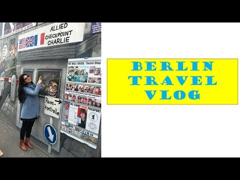 Berlin |Travel Vlog |Amsterdam to Berlin