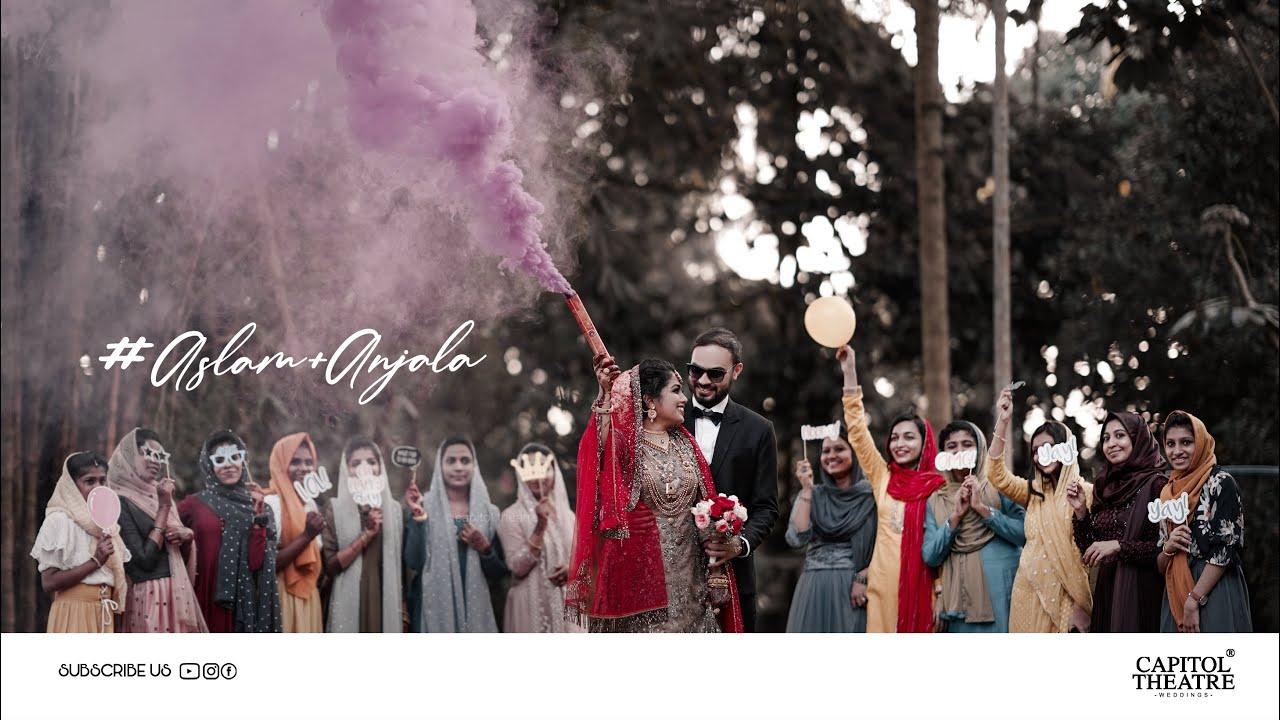 KERALA MUSLIM WEDDING TEASER | ASLAM + ANJALA | CAPITOL THEATRE | PERINTHALMANNA