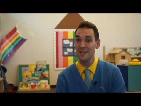 Ben Collinsworth, Preschool Teacher, Emily Meschter Early Learning Center