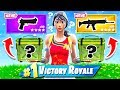 RANDOM AMMO CRATE WEAPON CHOOSER *NEW* Game Mode in Fortnite Battle Royale