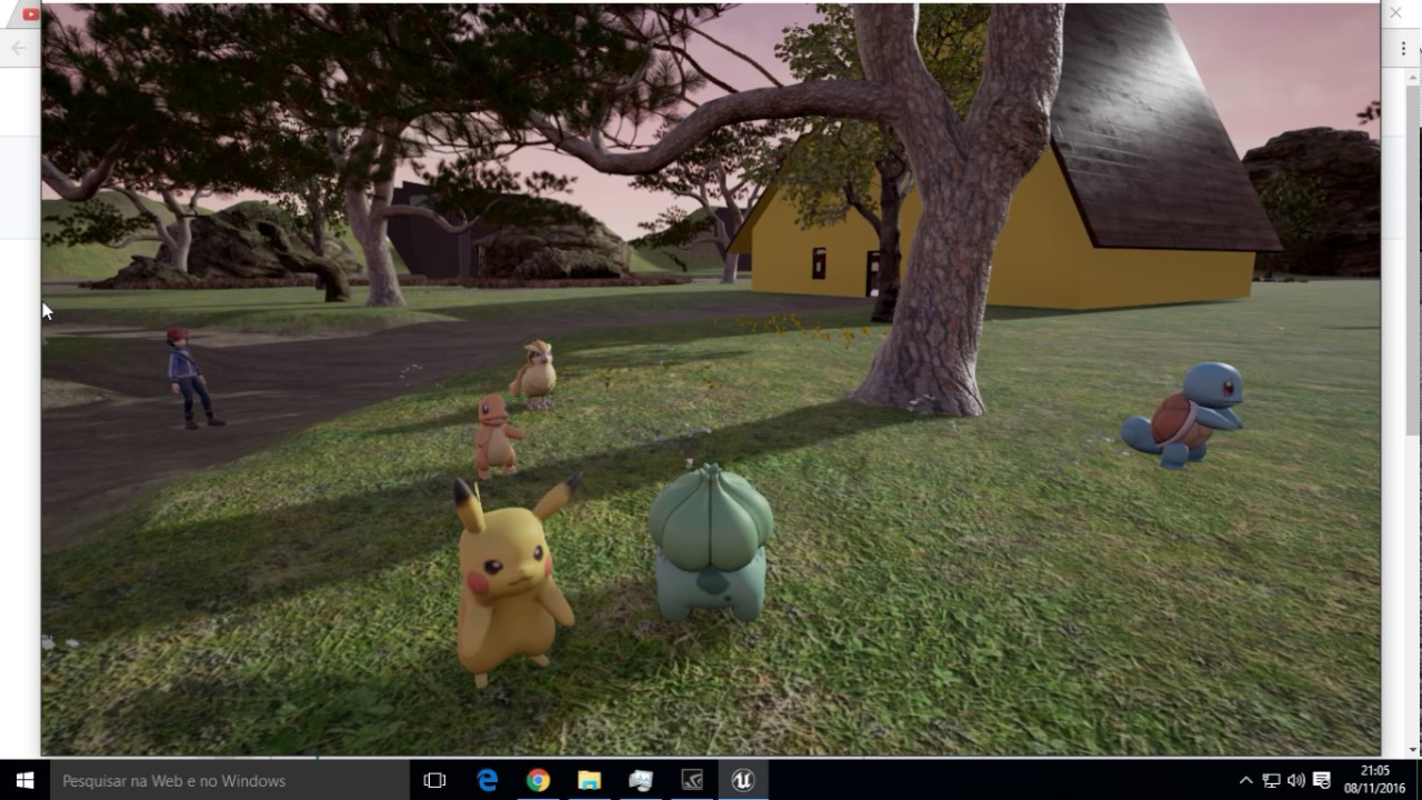 Pokemon unreal engine download | Pokemon HD Unreal Engine on