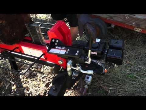 Champion 20 Ton Wood Splitter Doovi