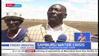 Samburu residents facing an uncertain future due to water crisis