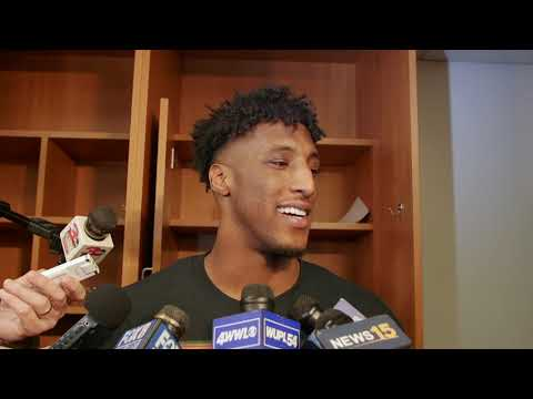 See what Michael Thomas had to say about beating the Eagles