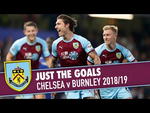 JUST THE GOALS | Chelsea v Burnley 2018/19