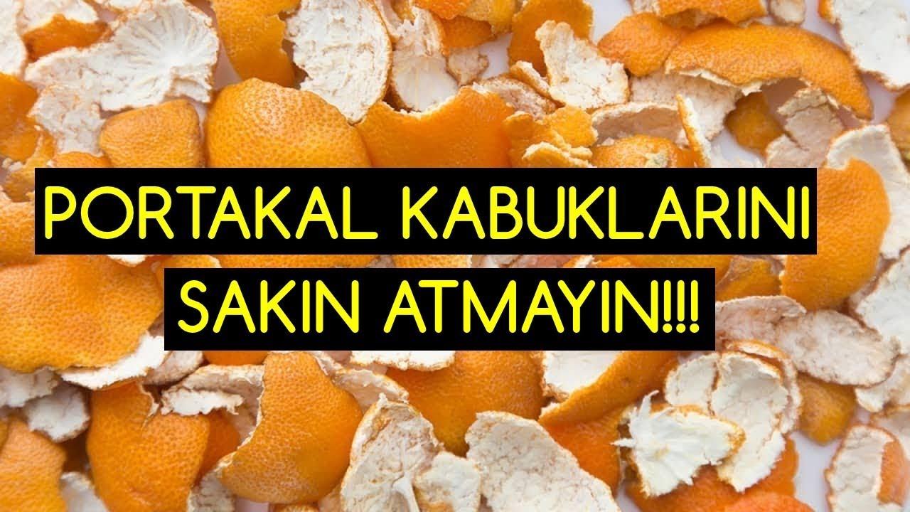Sakın çöpe atmayın İşte, portakal kabuğunun faydaları
