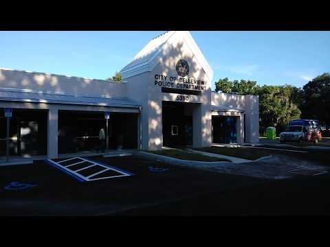 1st amendment audit, Belleview FL PD, Butthurt contractor