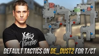 Видео урок от Zeus: ''Дефолт на de_dust2 за T и CT''