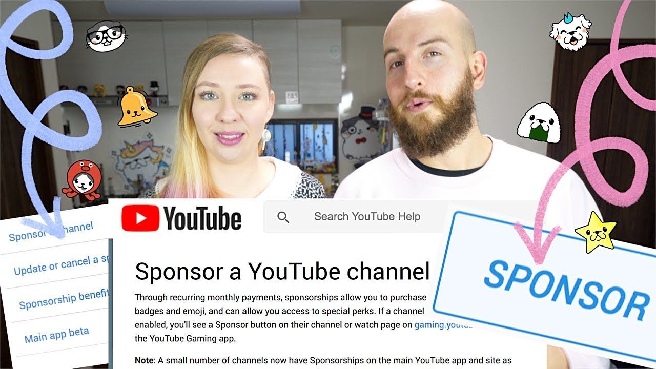 How You Can Support Our Channel - YouTube's Sponsor Program