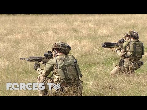 How British Soldiers Prepare To Deploy To Iraq | Forces TV