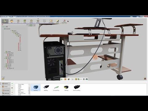 SimLab Composer / Creating wires